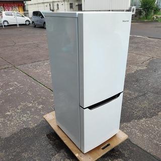 ハイセンス HR-D15C 2ドア冷蔵庫『美品中古』2018年 ...