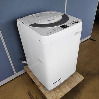シャープ 全自動洗濯機 ES-GE55N-S『良品中古、小錆あり...