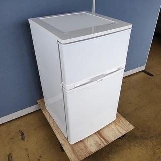 ELSONIC EJ-R832W 2ドア冷蔵庫『美品中古』201...