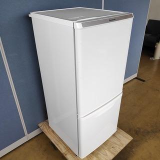 パナソニック NR-B146W-W 2ドア冷蔵庫『美品中古』20...