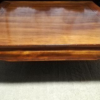 ◆古い 木製 座卓 ちゃぶ台 ◇ 天然木 古道具 和家具 座敷机...