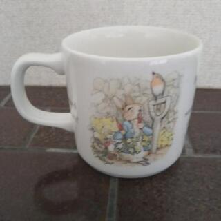 ピーターラビットのカップ