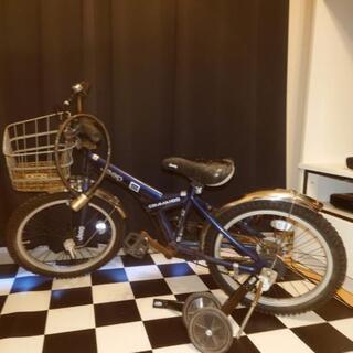 息子が乗っていた18 インチの自転車お譲り致します。