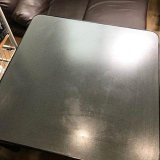 ほぼ新品のこたつ、センターテーブルにもなります