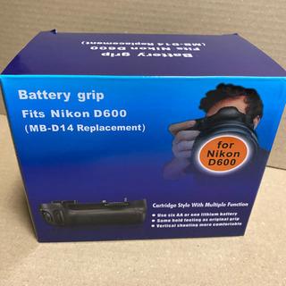バッテリーグリップ Nikon d600  MB-D14