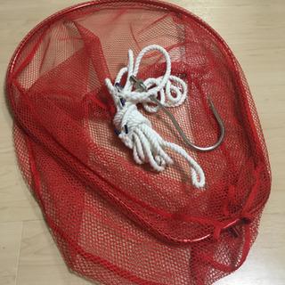 プロックス ランディングネット、ギャフ、ロープ
