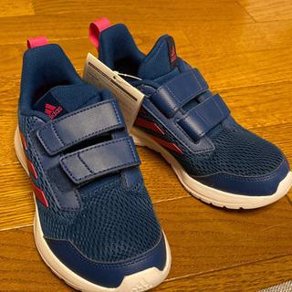 未使用 kids靴 adidas 20cm ベルト式