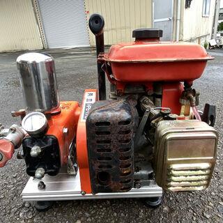 整備済 2.4馬力 13L/分 高圧40Kgf/c㎡ セット動噴...
