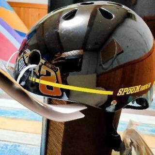 自転車+スケートボード+キックボード ヘルメット Spoon R...