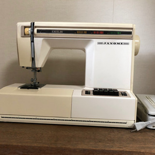 JANOME EXCEL20 ジャノメミシン工業 エクセル20
