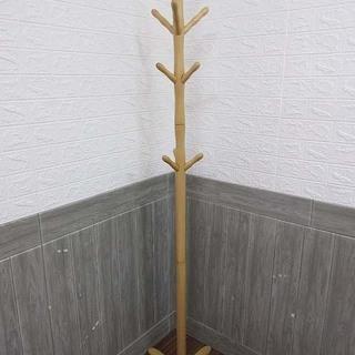 ss1298 ポールハンガー ナチュラル 木製 高さ180…