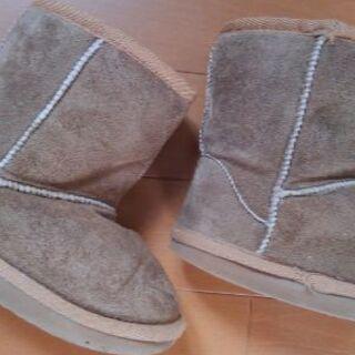 16㎝ 子供ブーツ 冬物