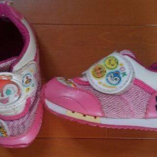 15㎝EE 子供靴 アンパンマン