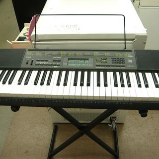 CASIO ベーシックキーボード 61鍵盤 スタンド付き CTK...
