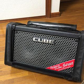 【Roland】Cube Street  +マイク、カバー、箱付き