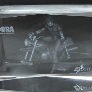 スペースコブラ クリスタルガラス 置き模型