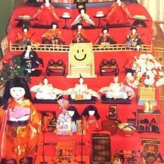 ひな人形七段飾り