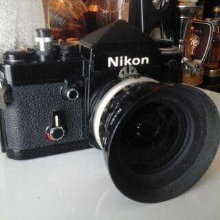 Nikon F2アイレベルブラック/35㎜フィルムカメラ/革ケー...