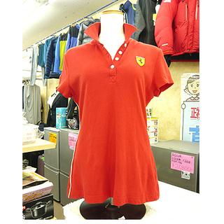 【Ferrari スクーデリア ポロシャツ レディース】US:M...
