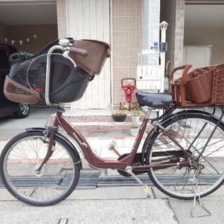 *子供乗せ自転車*