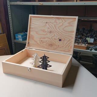 ①【限定2個】『木製収納ボックス』販売いたします。 弊社【佐藤工...