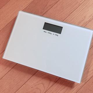 ガラス 体重計