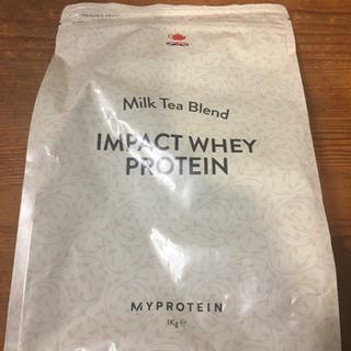 ■届きたで!■マイプロテイン ホエイプロテイン 1kg(ミルクティー)