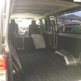 商用車・箱バン(日産キャラバン)での荷物運搬・単身者のお引っ越しなどお手伝いします - 運搬代行
