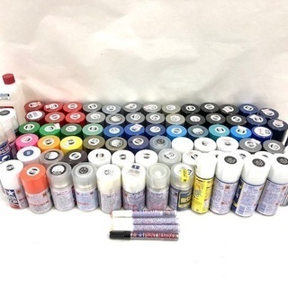 TAMIYA タミヤカラー 塗料 スプレー塗料 85個セット ツ...
