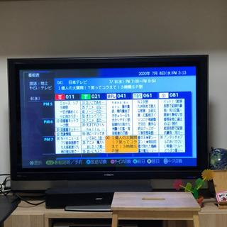⭐️急ぎ 日立プラズマテレビ 42型 大容量内蔵HDD付き 明日...