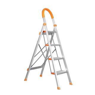 344 【新品】アルミ 踏み台 折りたたみ 軽量 脚立 はしご ...