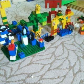 duploのレゴ 増量 たのしい動物園 みどりのバスケット