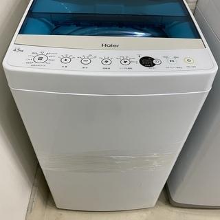 洗濯機 ハイアール Haier JW-C45A 2019年製 4...