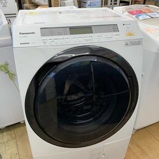 【安心一年保証】Panasonic/11.0kgドラム式洗濯機/...