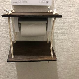 ハンドメイド  トイレ  スマホ置き  置くだけタイプです  便利グッズ - 売ります・あげます