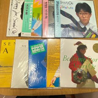 大江千里レコード9枚セット