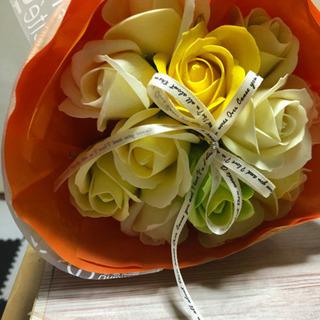 石鹸の花束