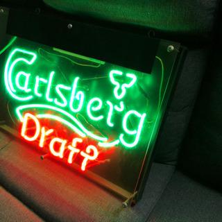 ネオン管 Carlsberg カールスバーグ