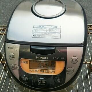 ☆日立 HITACHI RZ-XC10M 5.5合炊き IHジャ...