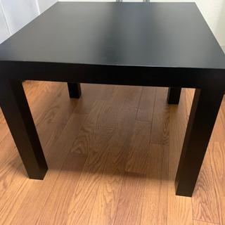 IKEA ローテーブル ブラック