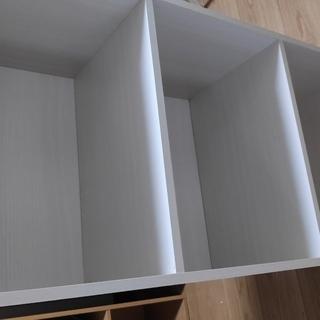 カラーボックス(3段) 白