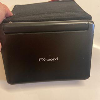 電子辞書 カシオEXword XD−U3800