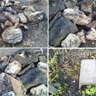庭石?大き目の石など