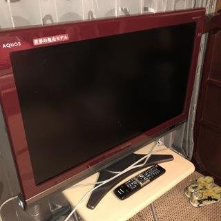 SHARP 液晶カラーテレビ 32型 2009年製(中古)