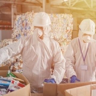 【高時給】廃品回収のリサイクル倉庫で荷受け・仕分けなど簡単作業♩...