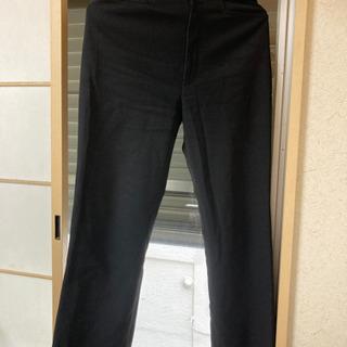 ウエスト61cm黒パンツ