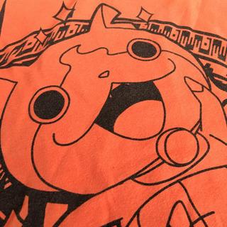 妖怪ウォッチ×ユニクロ 半袖Tシャツ オレンジ サイズ100
