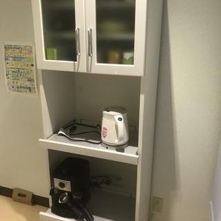 キッチン棚(白)