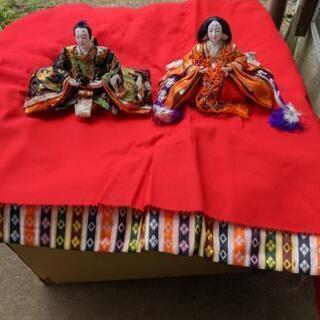 7段飾り雛人形(秀月か久月のモノ)