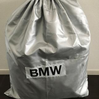 BMWセダン車用カバー。屋根あり駐車場で、埃除けに利用。5年程度...